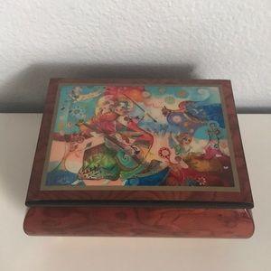 It's A Small World Ercolano Musical Jewelry Box